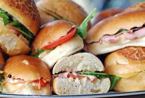 Belegde broodjes aan huis